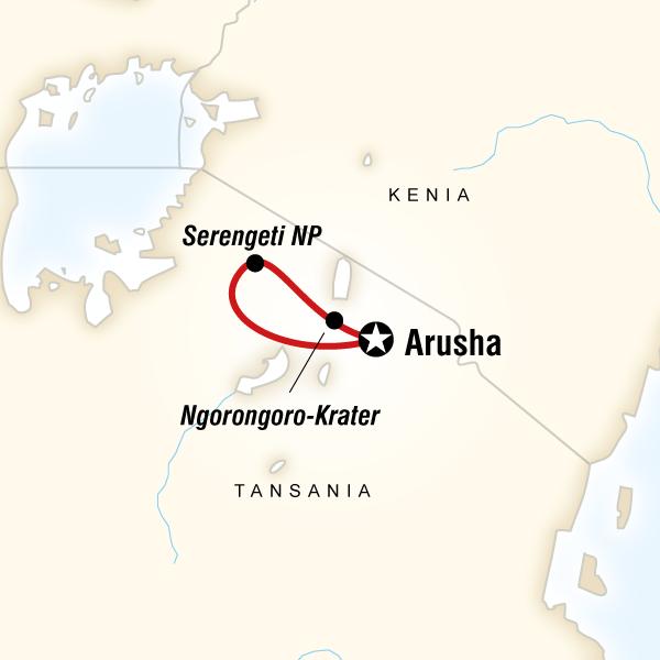 Individualreise – Safari Serengeti & Ngorongoro-Krater