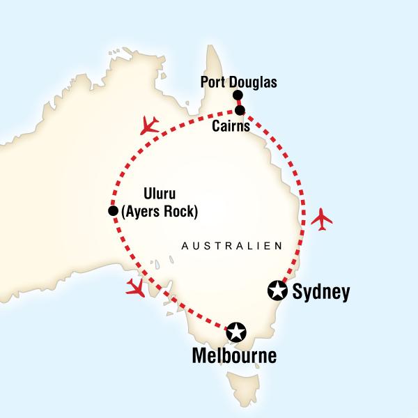 Entdecke Australien