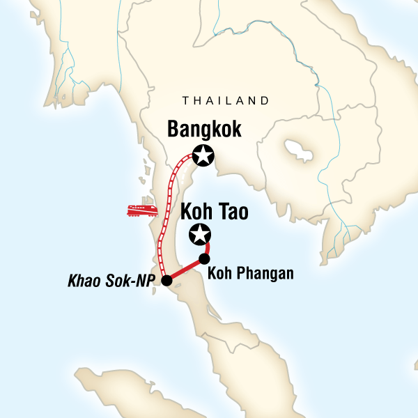 Südthailand – Nachtleben & Nationalparks