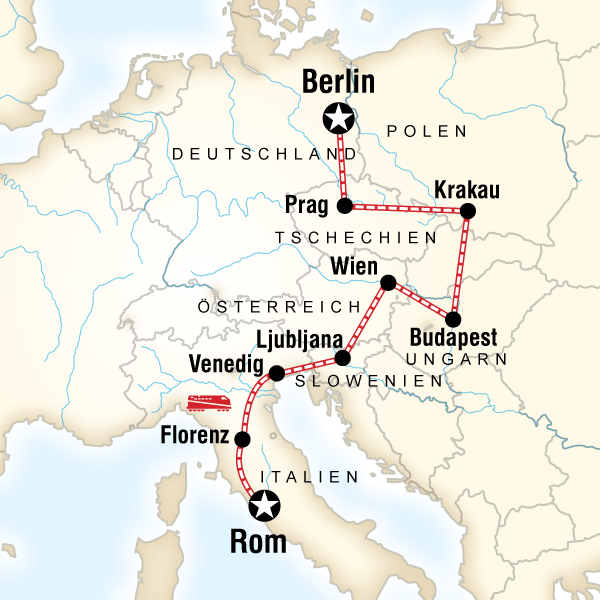 Von Rom nach Berlin – Pizza, Pils & Piazzas