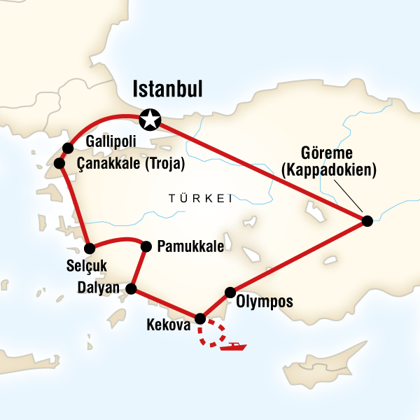 Türkei – Küstenstädte & Kebabs