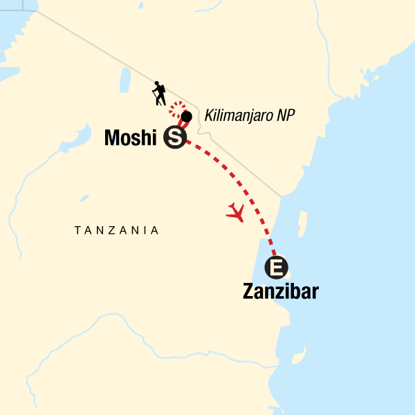Kilimandscharo – Marangu-Route & Sansibar