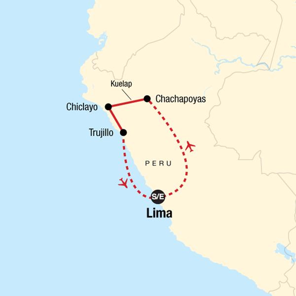 Entdecke den Norden Perus