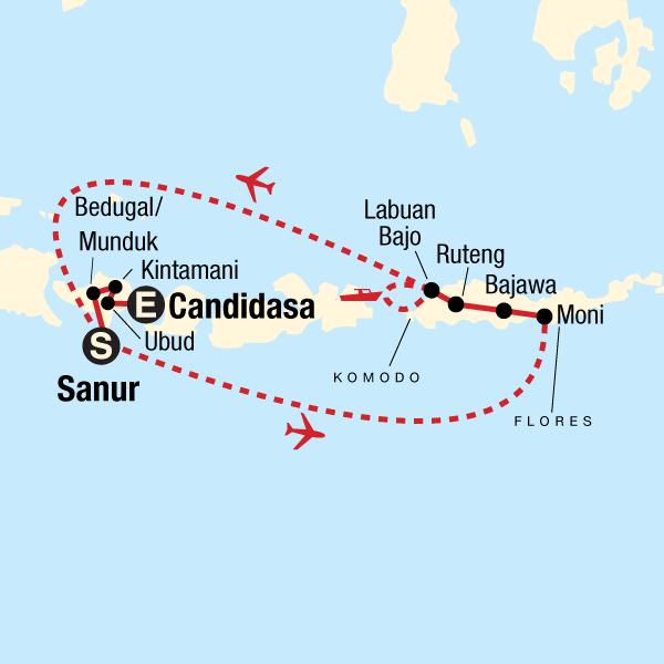 Entdecke Bali, Flores & Komodo