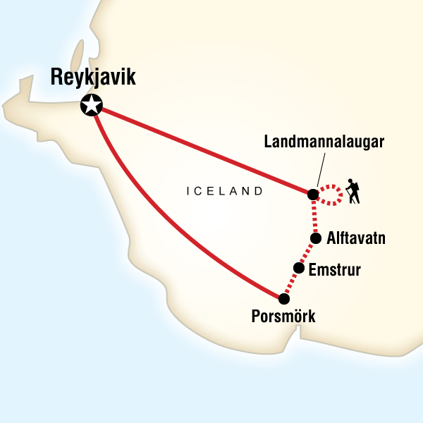 what kind of plate boundary runs across iceland