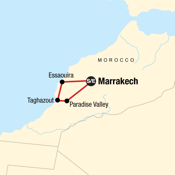 Coastal Morocco: Waves & Waterfalls
