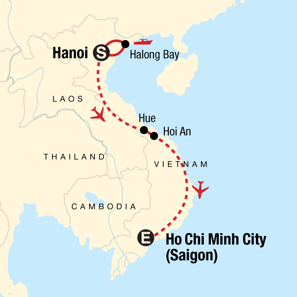 TailorMade Vietnam: North to South Explorer