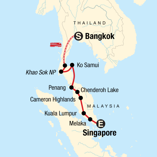 Bangkok to Singapore: Markets & Pad Thai