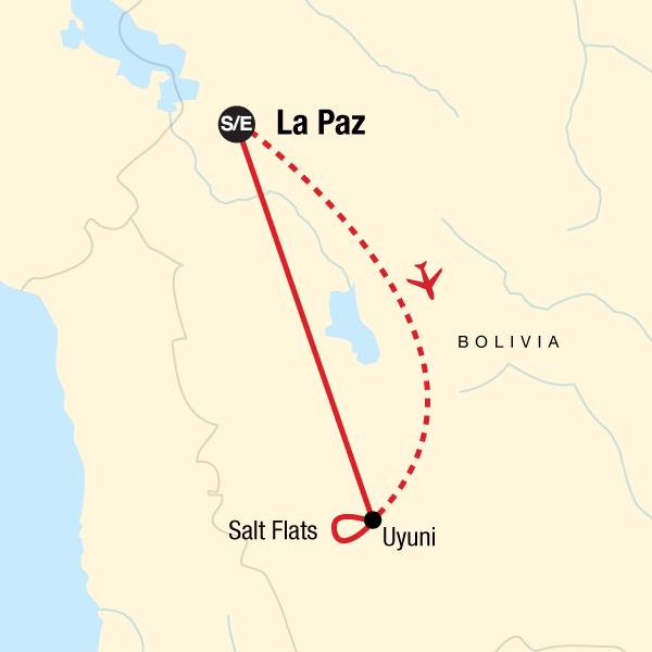 Bolivien Express – Salzebenen & Wüsten