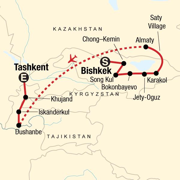 Best of Kyrgyzstan and Tajikistan - STATravel hu