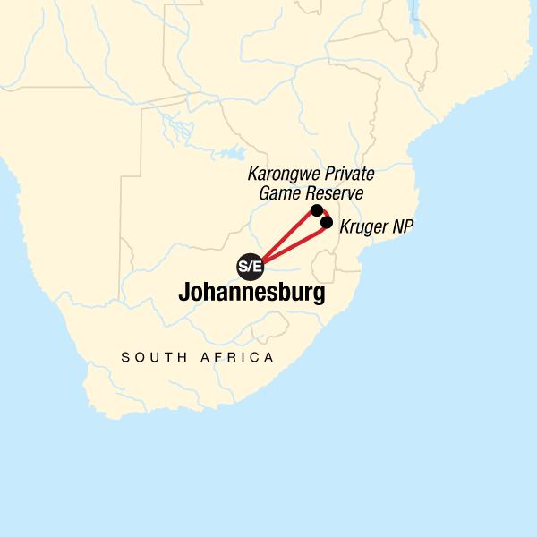 Entdecke den Krüger-Nationalpark