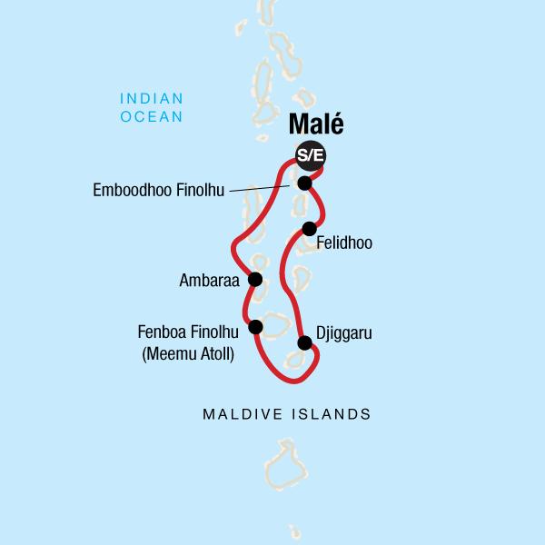 Die Malediven entdecken mit dem Dhoni