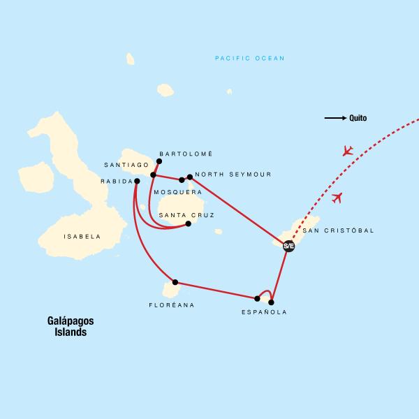 Galápagos — South & Central Islands aboard the Xavier III
