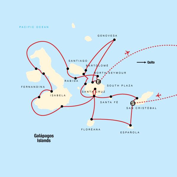 Complete Galápagos - Eden