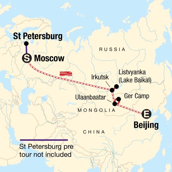 Erlebnisreise durch die Mongolei