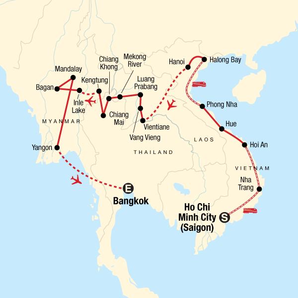 Vietnam, Laos & Myanmar – Strände & Sonnenschein