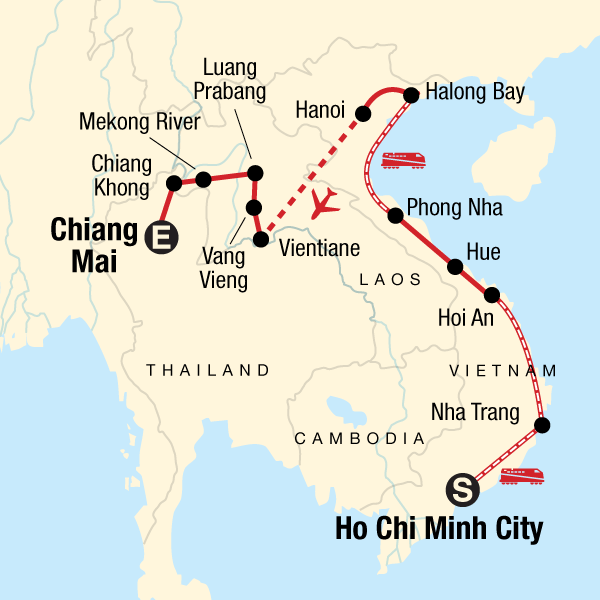 Vietnam & Laos: Homestays & Houseboats