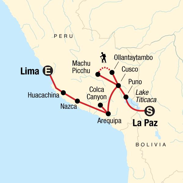 Von La Paz nach Lima – Anden & Alpakas