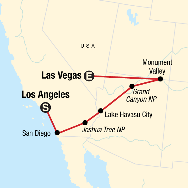 Roadtrip durch die USA – San Diego, Grand Canyon & Las Vegas