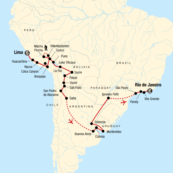 Lima to Rio: Coast to Coast