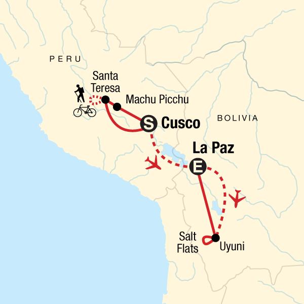 Inka-Dschungel – Regenbogen-Berg & Salzebene