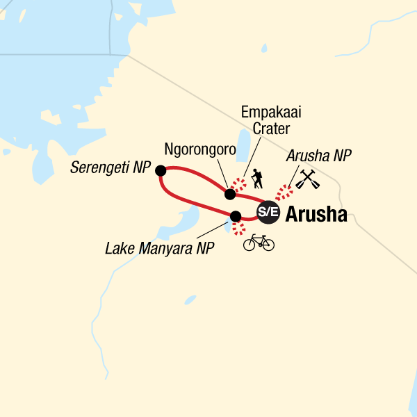 Tanzania Active Safari