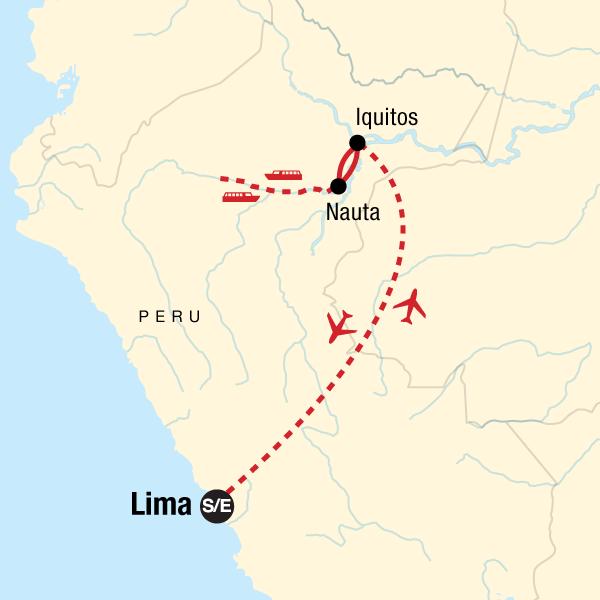 Kreuzfahrt durch den Amazonas-Regenwald