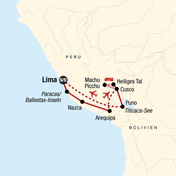 Inka-Entdeckungsreise