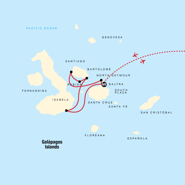 Galápagos — West & Central Islands aboard the Monserrat
