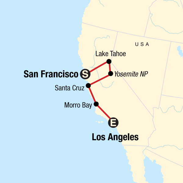 Roadtrip durch die USA – Kalifornien & Küsten