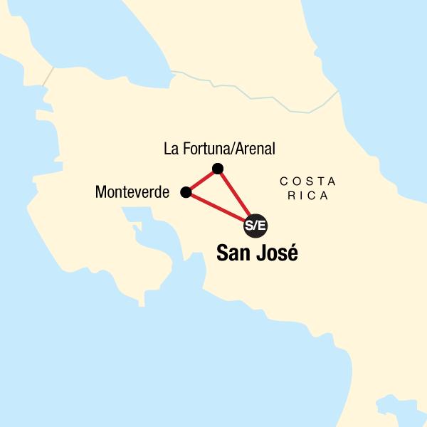 Costa Rica – Monteverde und La Fortuna