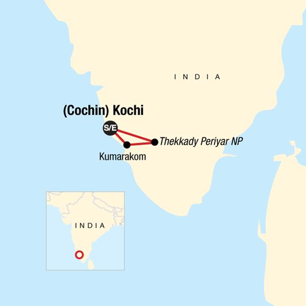 Südindien: Entdecke Kerala