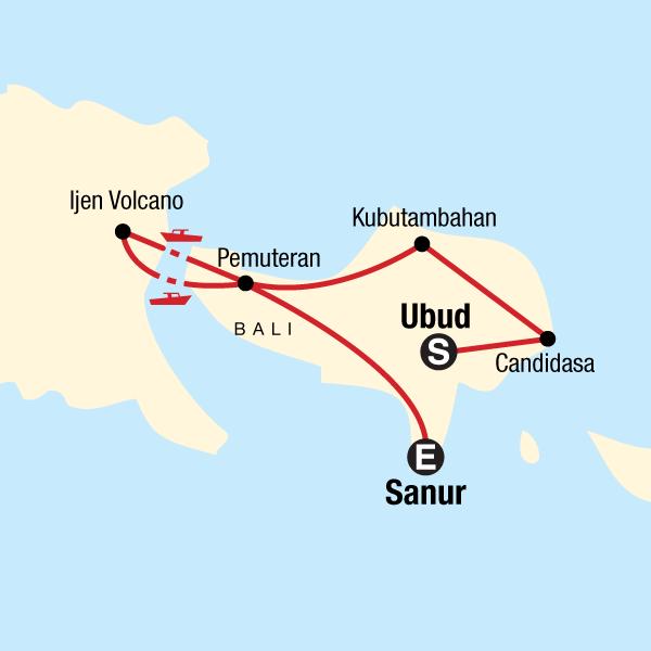 Bali und Java Aktivreise