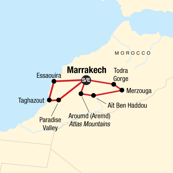 Morocco: Deserts & Beaches