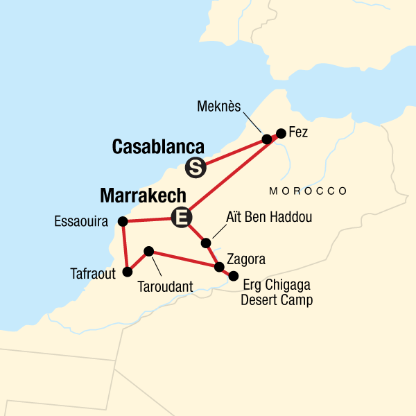 Morocco: Sahara & Beyond