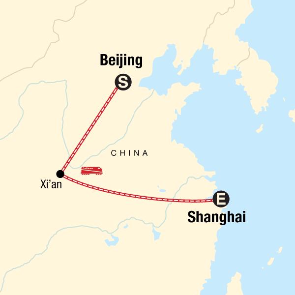 Von Beijing nach Shanghai – Königreiche & Karaoke
