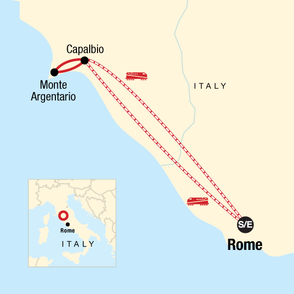Italien Local Living – Toskana-Küste
