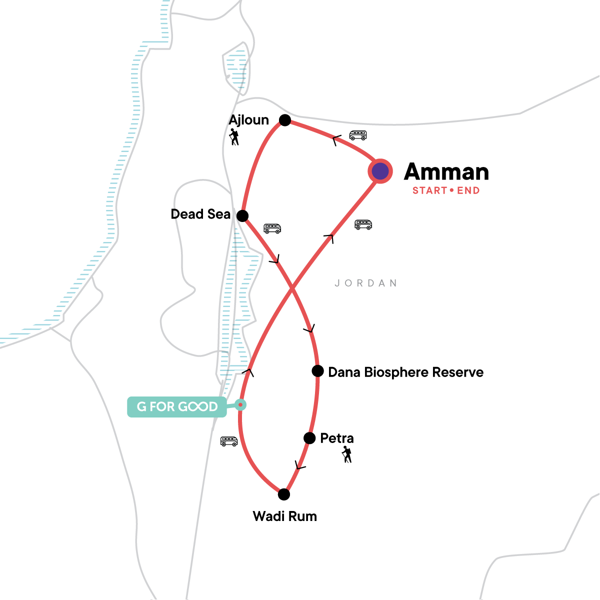 Jordan Multisport Map