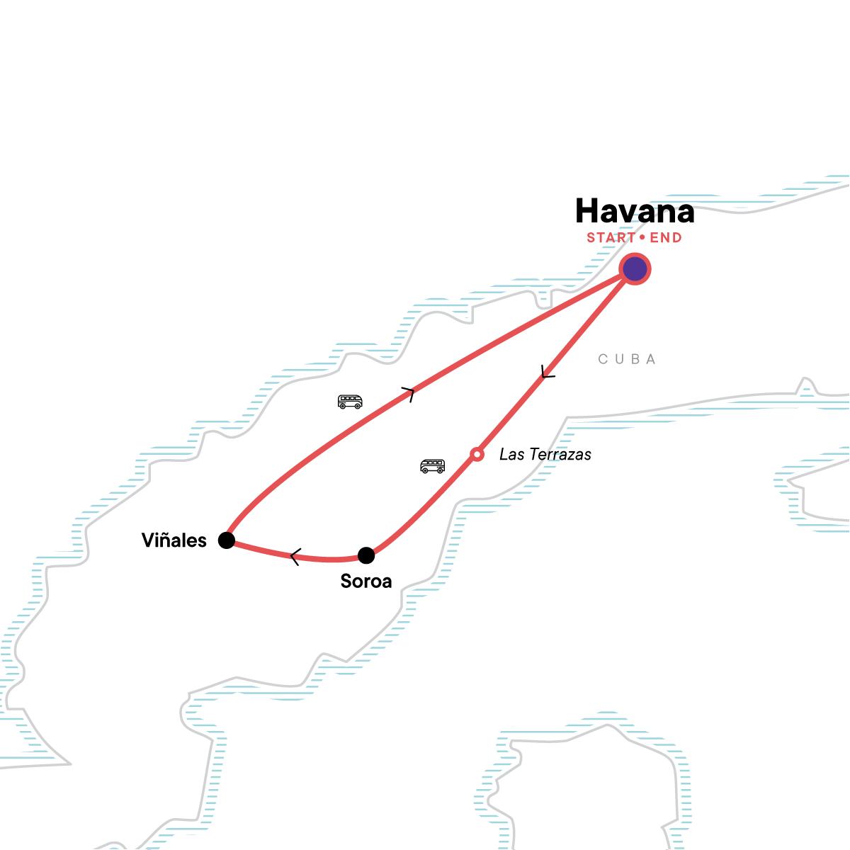 Cuba Libre Map