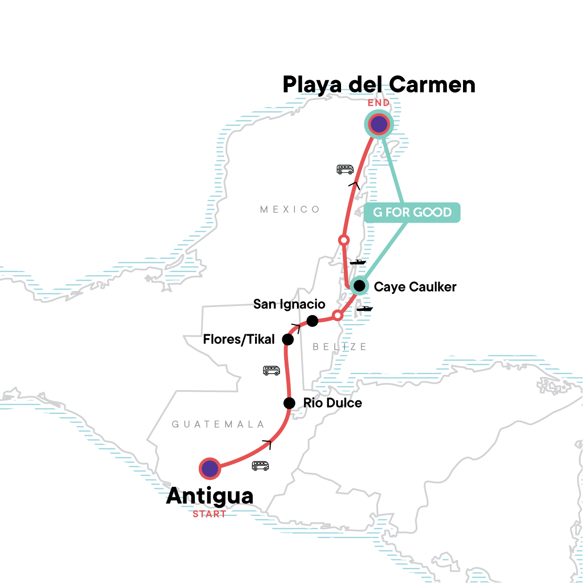 Mayan Encounter Map