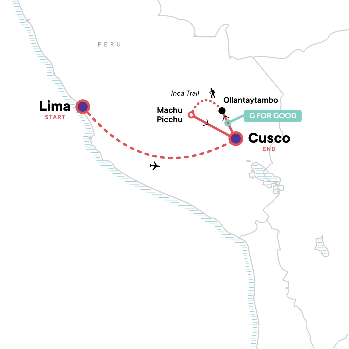 Inca Discovery Map