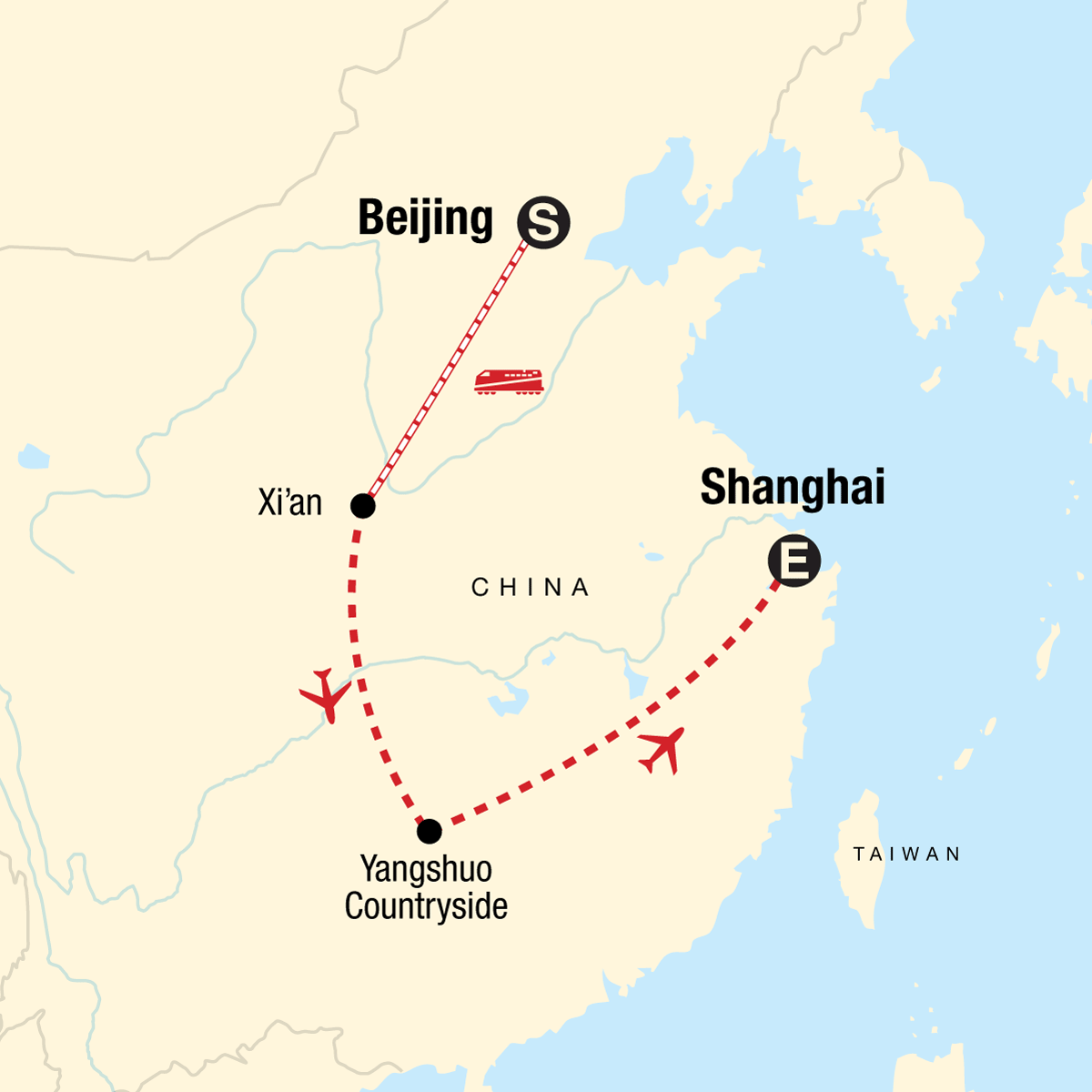 Best of China Map