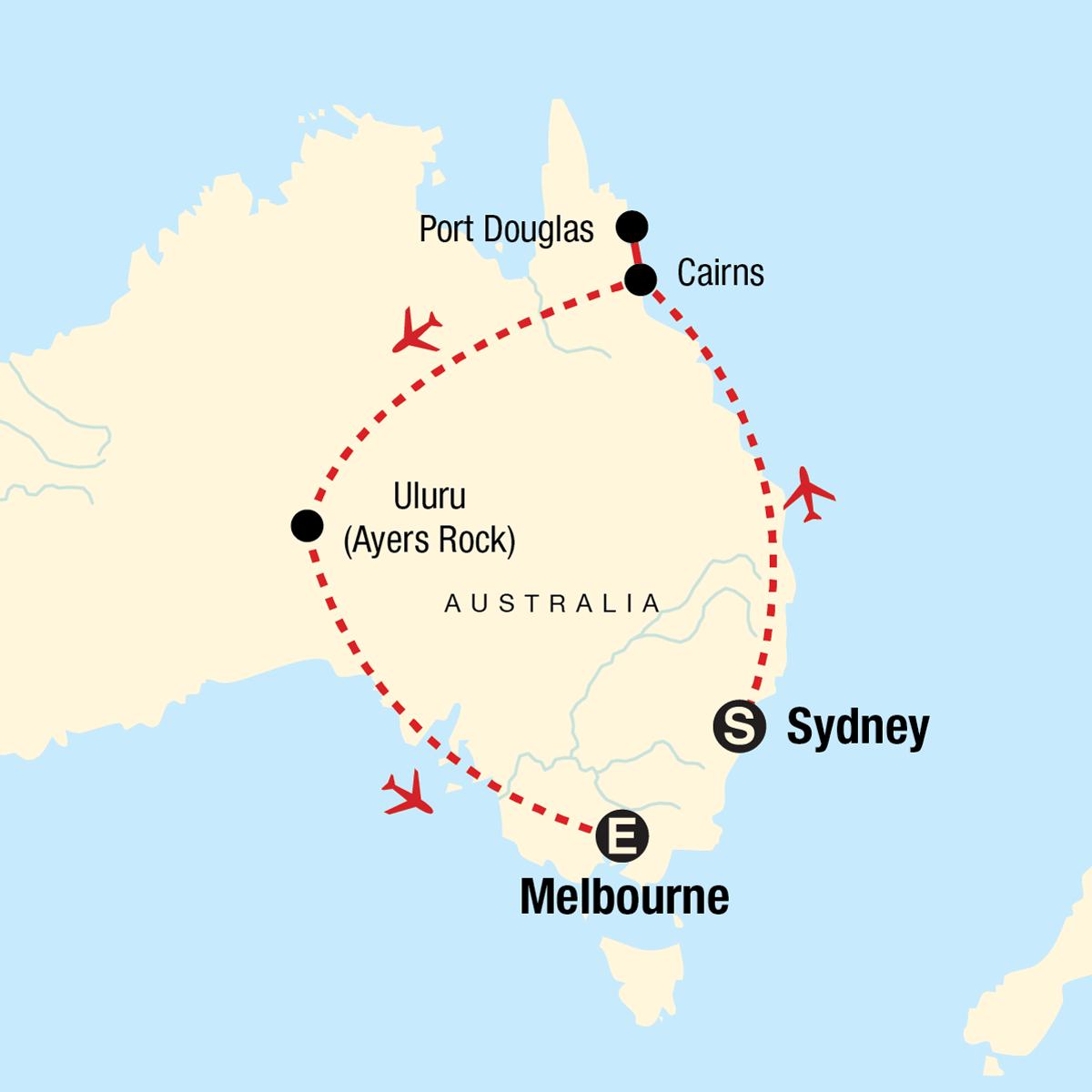 Explore Australia Map