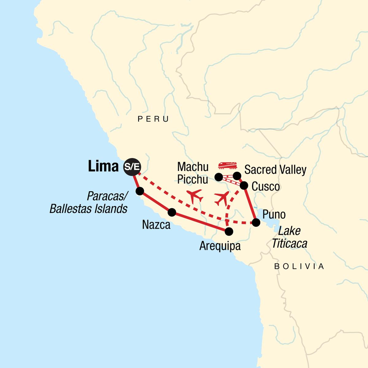 Inca Explorer Map