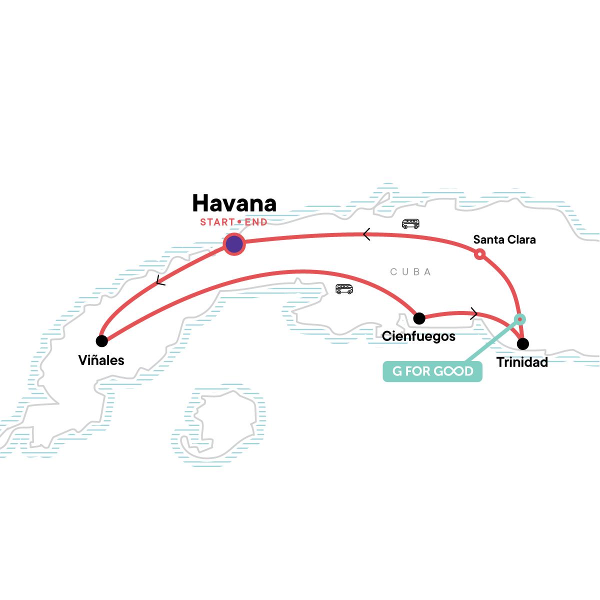 Cuba Explorer Map