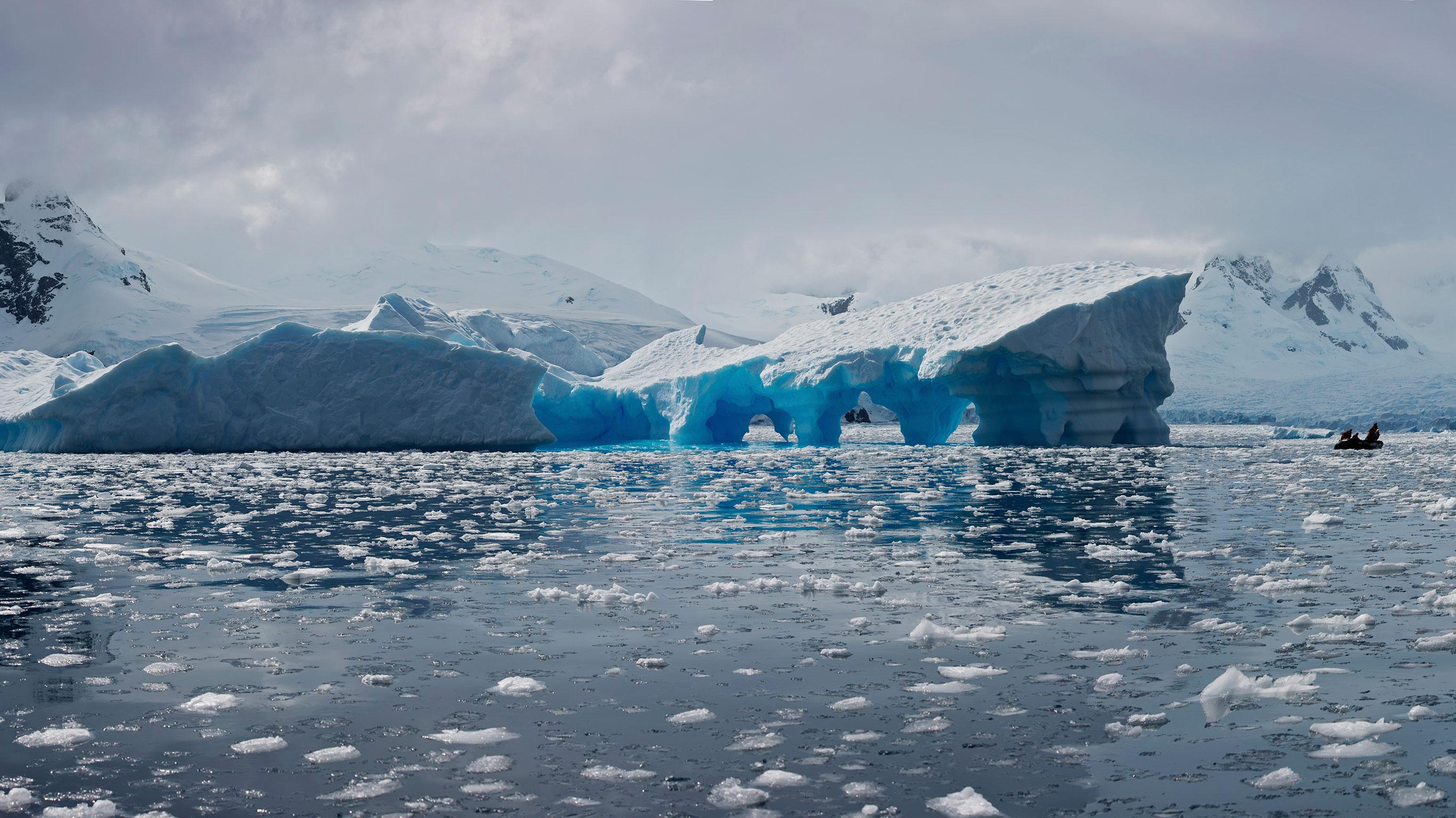 Expeditionsreise in die Antarktis