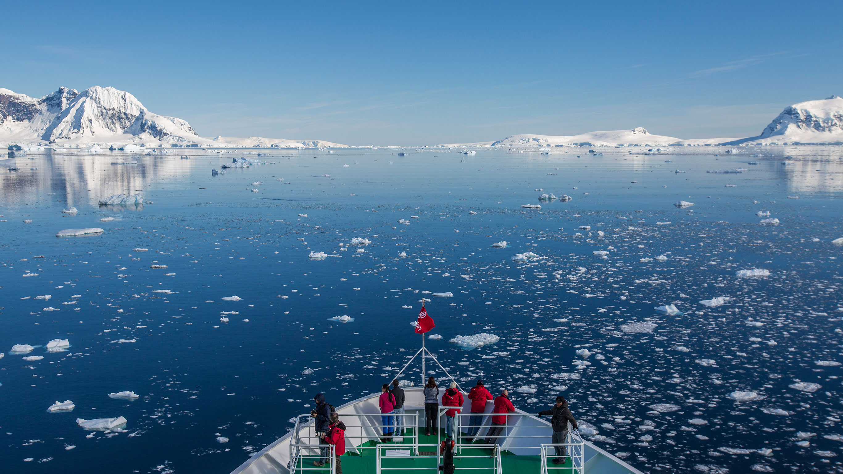 Expedition zum Südpolarkreis