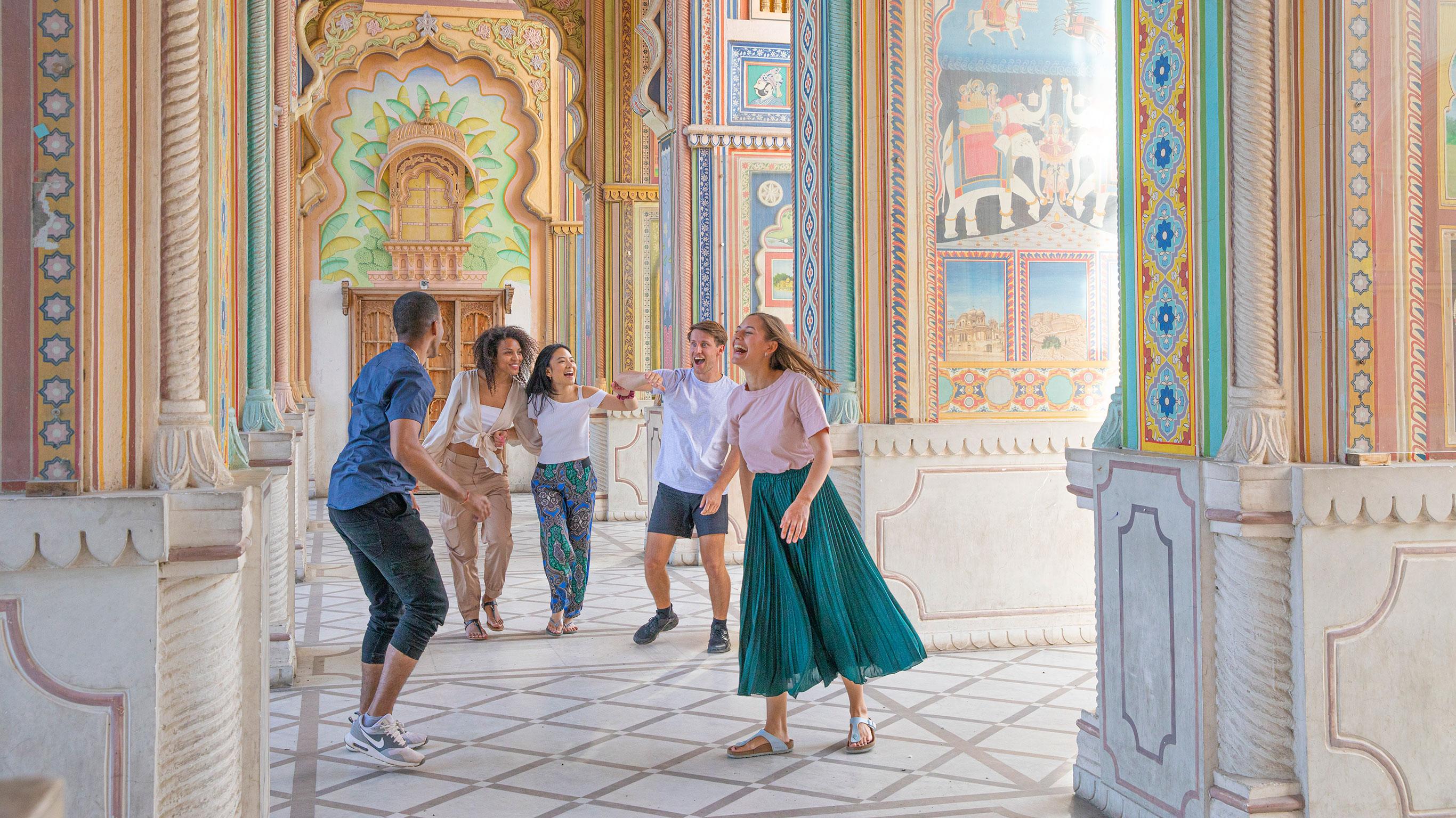 Rajasthan: Märkte & Mogulreich