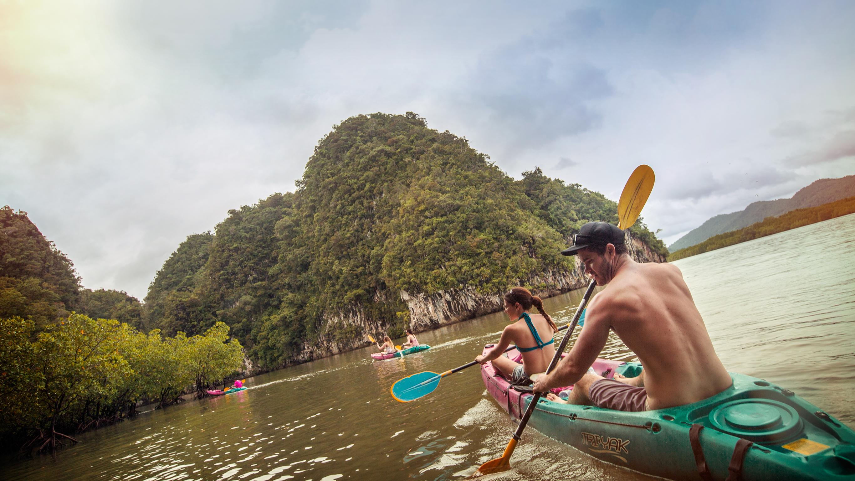 Thailand – Wandern, Fahrrad und Kajak