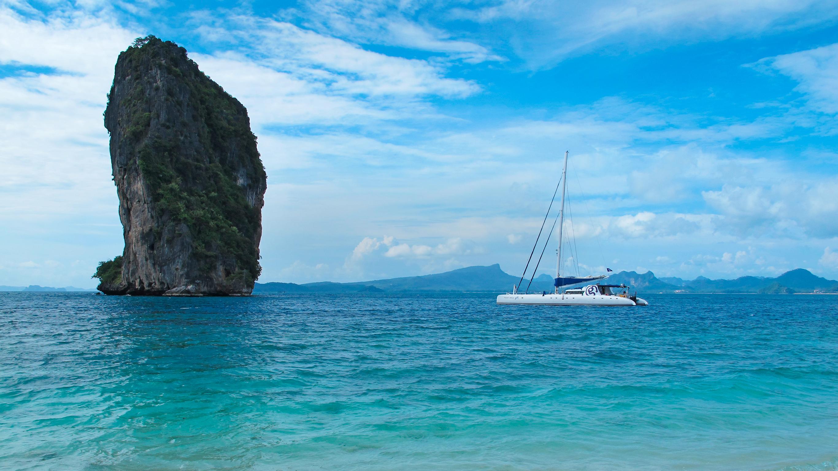 Segeln in Thailand: Von Ko Phi Phi nach Phuket — Plus